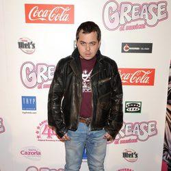 Jimmy Barnatán en el estreno de 'Grease'