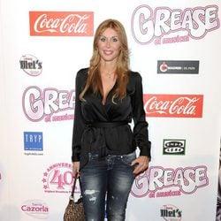 Malena Gracia en el estreno de 'Grease'