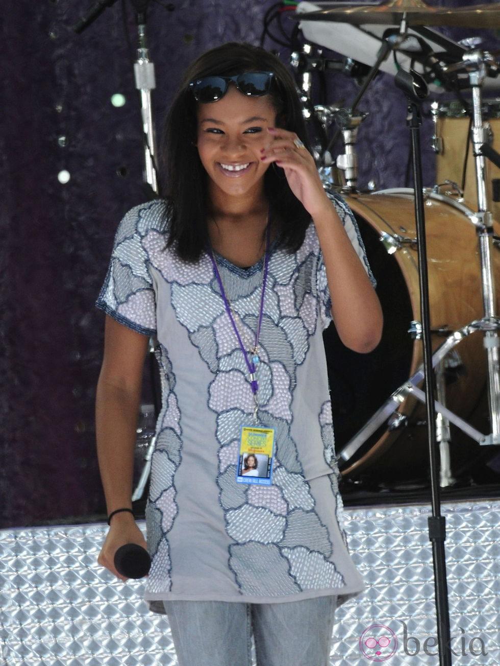 Bobbi Kristina, la hija de Whitney Houston
