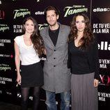 María Botto, Juan Diego Botto y Nur Al Levi en el estreno de 'De tu ventana a la mía'