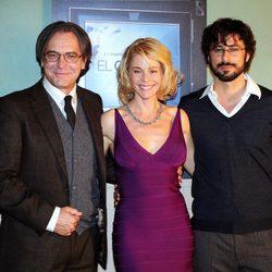 José Coronado, Belén Rueda y Hugo Silva