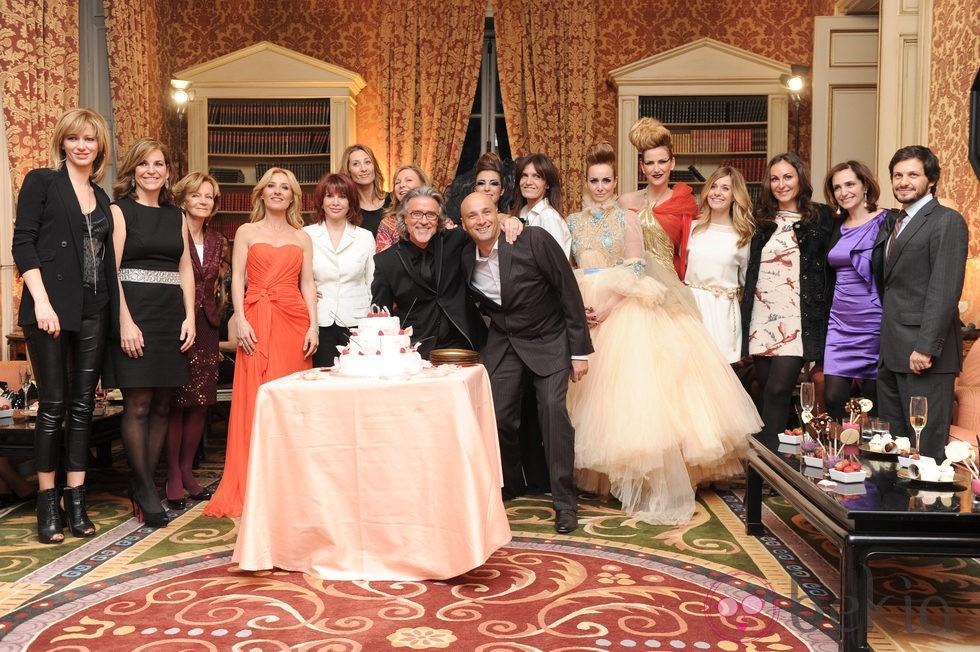 Alberto Cerdán celebra sus 40 años de profesión rodeado de caras conocidas