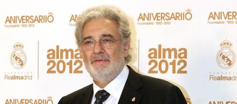 Plácido Domingo en los premios Alma 2012 de la Fundación del Real Madrid