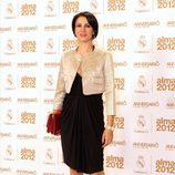 Silvia Jato en los premios Alma 2012 de la Fundación Real Madrid