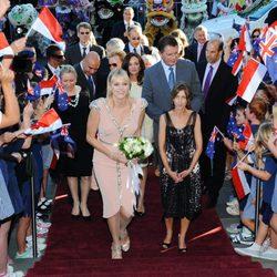 La Princesa Charlene de Mónaco inaugura 'Grace Kelly: Icono de Estilo' en Australia
