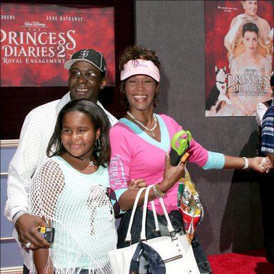 Bobby Brown, Whitney Houston y su hija Bobbi Kristina