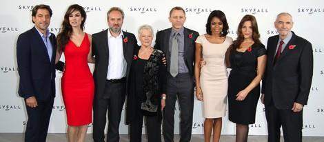 Reparto internacional de la nueva película de James Bond 'Skyfall'