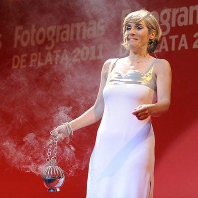 Anabel Alonso, presentadora de la gala de los Fotogramas de Plata 2011