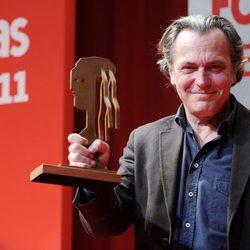 José Coronado posa con su Premio Fotogramas de Plata 2011