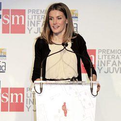 La Princesa de Asturias en la entrega del Premio El Barco de Vapor 2012