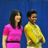 Samantha Cameron y Michelle Obama en Washington