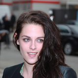 Kristen Stewart a su llegada a la Semana de la moda de París