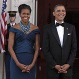 Barack y Michelle Obama en la Casa Blanca