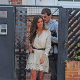 Iker Casillas y Sara Carbonero saliendo de su casa de Boadilla del Monte