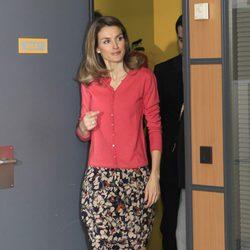 La Princesa de Asturias en la entrega del Premio Fundación CNSE 2011