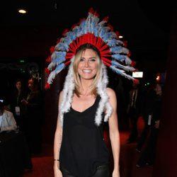 Heidi Klum en un acto solidario organizado por Unicef