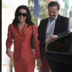 Eva Marciel y Aníbal Soto en 'Mi gitana'
