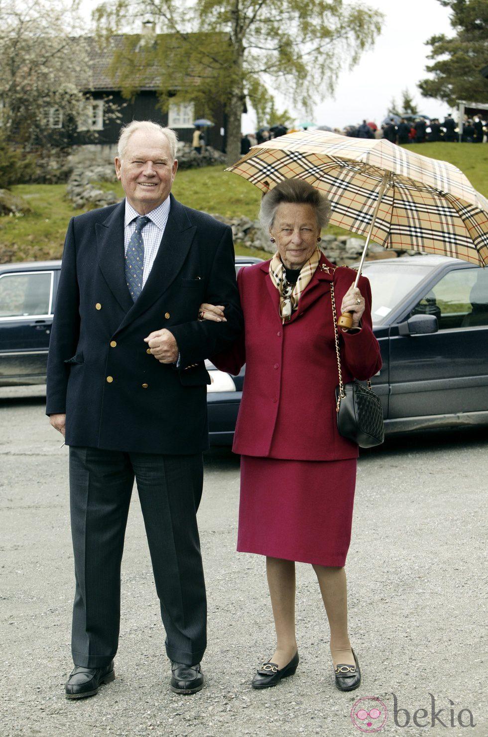 Erling Sven Lorentzen y Ragnhild de Noruega