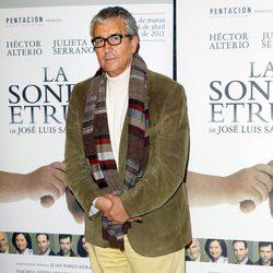 Paco Valladares en 2011 en 'La sonrisa etrusca'