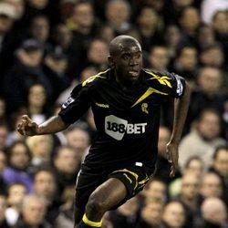 El futbolista Fabrice Muamba antes de sufrir un infarto