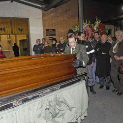 Funeral de Paco Valladares
