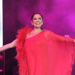 Isabel Pantoja en un concierto en Barcelona