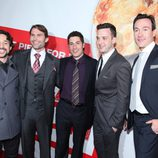 Thomas Ian Nicholas, Seann William Scott, Jason Biggs, Eddie Kaye Thomas y Chris Klein