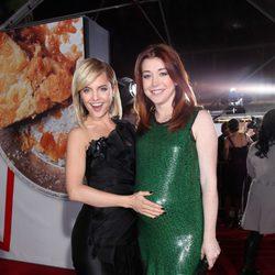 Mena Suvari y Alyson Hannigan en el estreno de 'American Pie: El Reencuentro'