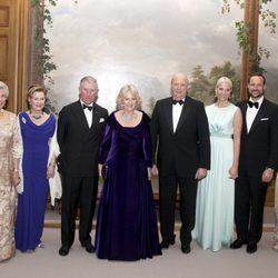 La Familia Real Noruega, Carlos de Inglaterra y la Duquesa de Cornualles en Oslo