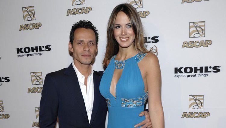 Marc Anthony y su novia Shannon de Lima