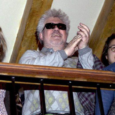 Pedro Almodóvar en un concierto de música británica en Madrid
