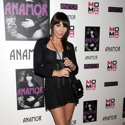 Anamor en la presentación de su nuevo single 'Ciérrame en tu cama'
