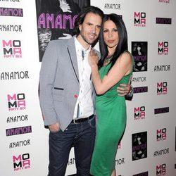 Roberto Liaño y Toñi Salazar en la presentación del nuevo single de Anamor