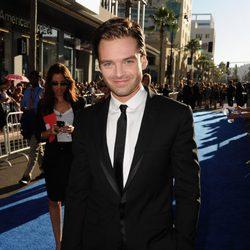 Sebastian Stan en el estreno de 'Capitán América'