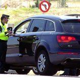 Paula Echevarría multada por mala conducción