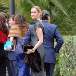 Fiona Ferrer en la boda de Álvaro Fuster y Beatriz Mira