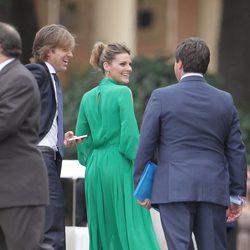 Amaia Salamanca y Rosauro Varo en la boda de Álvaro Fuster y Beatriz Mira