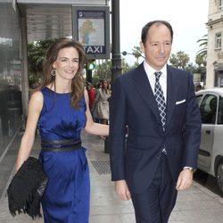 Los Príncipes Konstantin y María de Bulgaria en la boda de Álvaro Fuster y Beatriz Mira