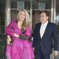 Isabel Sartorius en la boda de Álvaro Fuster y Beatriz Mira