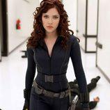 Scarlett Johansson como la 'Viuda Negra' en 'Iron Man 2'