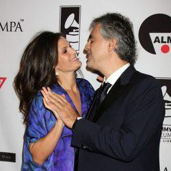 Andrea Bocelli y su mujer Veronica Berti