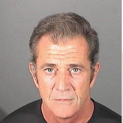Ficha policial de Mel Gibson tras su arresto