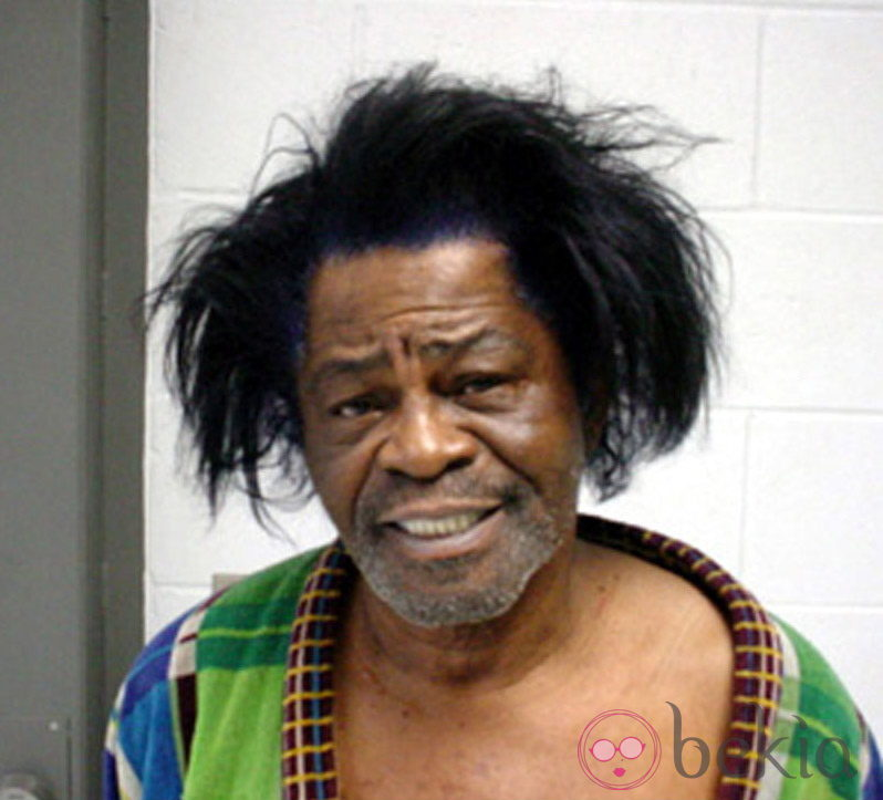 Ficha policial del cantante James Brown