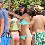 Selena Gomez en bikini en el rodaje de 'Spring Breakers'