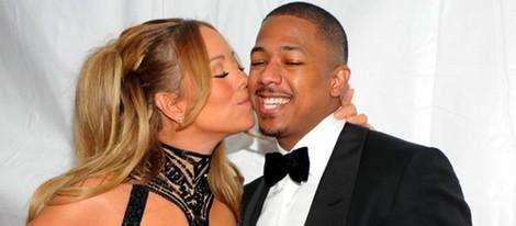 Mariah Carey y Nick Cannon muy enamorados en los BET Awards