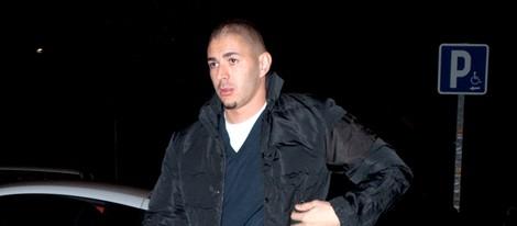 Karim Benzema paseando por las calles de Madrid