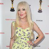 Lindsay Lohan en un acto celebrado en Los Ángeles