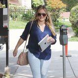 Hilary Duff reaparece tras haber dado a luz a su primer hijo
