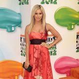 Ashley Tisdale en los Nickelodeon Kids' Choice Awards 2012