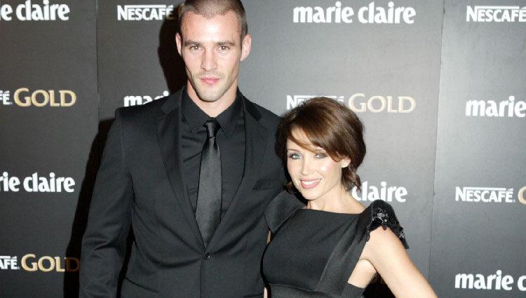 Dannii Minogue y Kris Smith